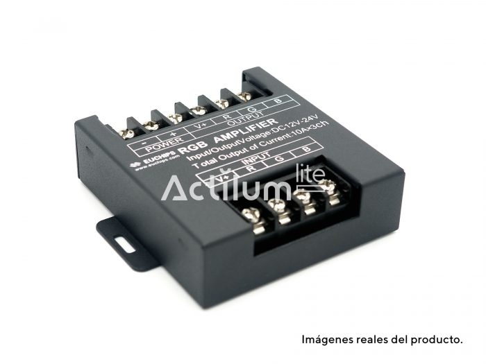 Amplificador LED RGB 3 canales