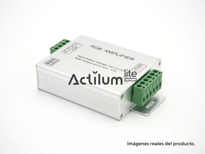 Amplificador LED RGB 3 canales plástico