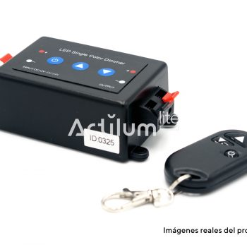 Regulador Dimmer LED 1 canal con mando