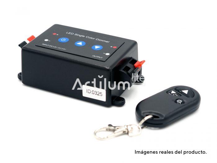 Regulador Dimmer LED 1 canal con mando