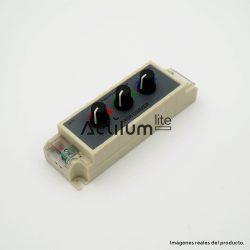 Controlador RGB con potenciómetros